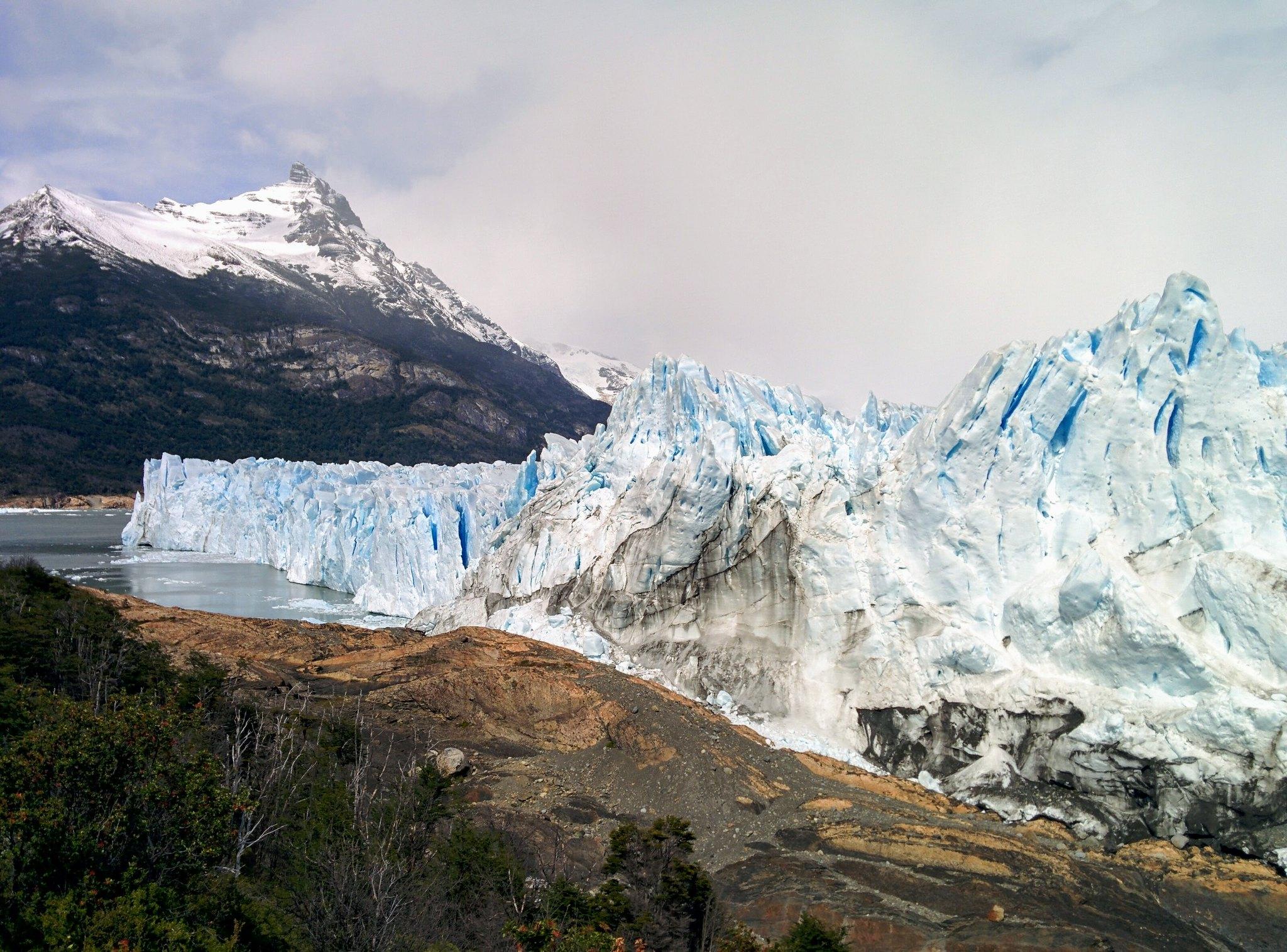 Glaciar Perito Moreno looking south