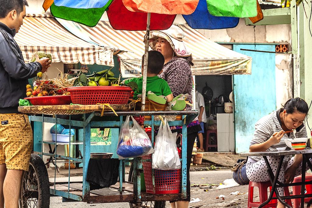 Alley scene in my neighborhood on 8-15-18--Saigon