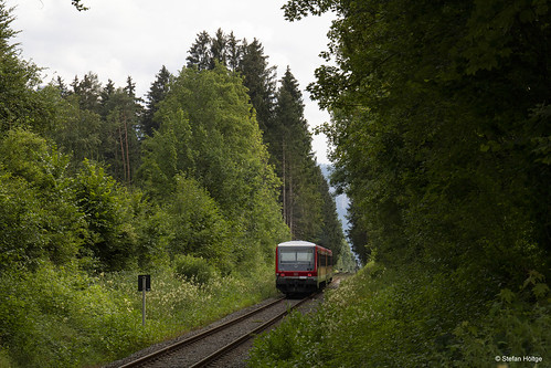 DB . Chiemgaubahn 928/628 556 Umrathshausen, 09.07.2018