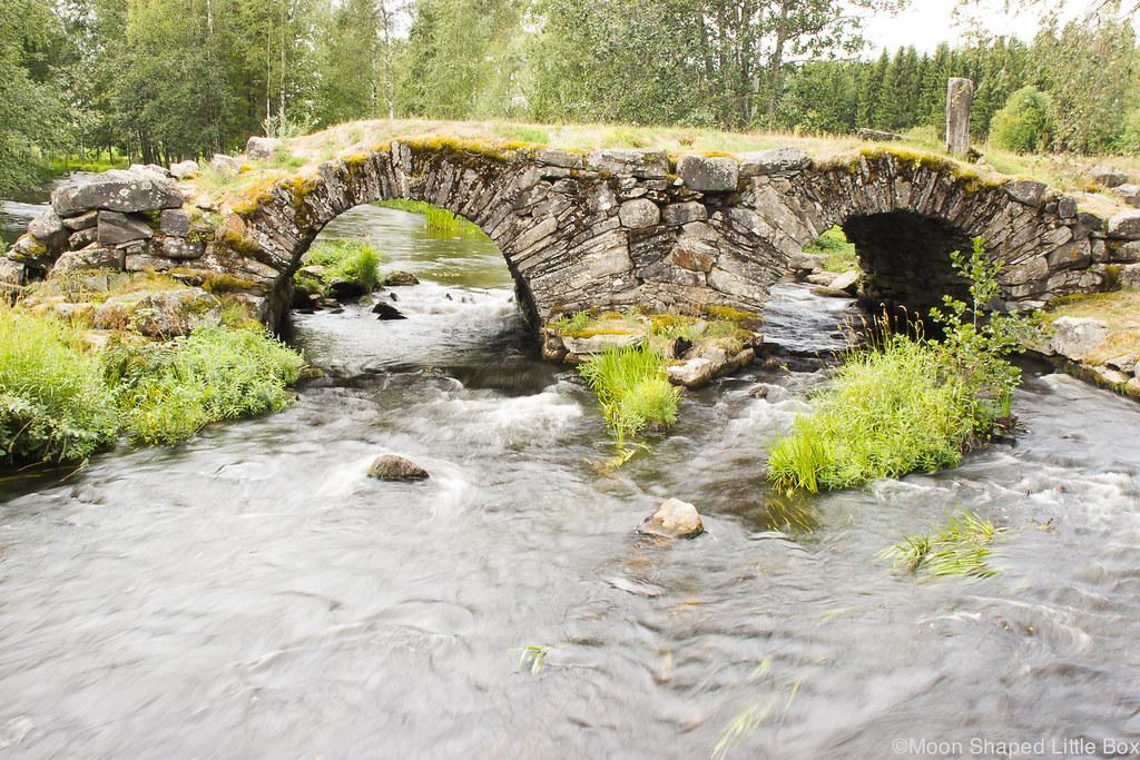 kompero, kivisilta, liperi, viinijärvi, koski, kaareva silta