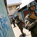 UN peacekeepers patrol in Haiti