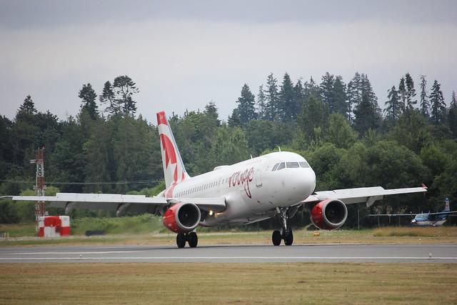 Air Canada Toronto-Nanaimo route launch