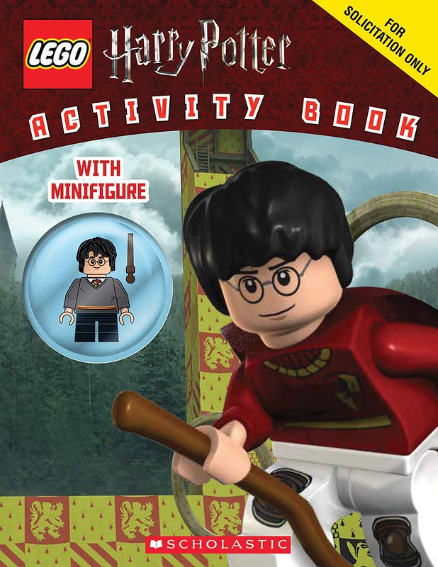 LEGO Harry Potter Activity Book + Figurka