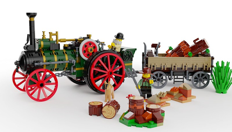 The Old Workhorse 6 - Lego Ideas
