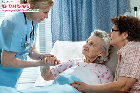 Chăm sóc người bệnh suy tim độ 3 đúng cách rất quan trọng khi bệnh tiến triển trở nặng
