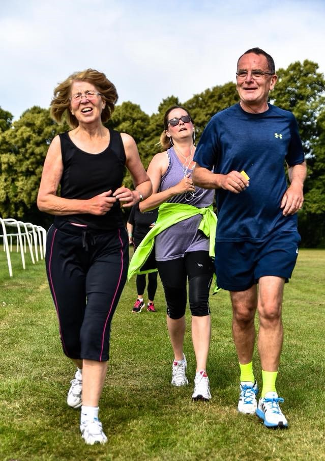 parkrun run report - 54