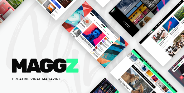 Maggz v1.1 – A Creative Viral Magazine and Blog Theme