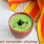 Coconut coriander chutney
