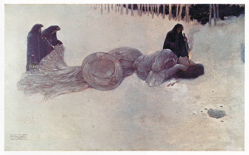 Gustave Adolf Mossa - A Carcass, 1906