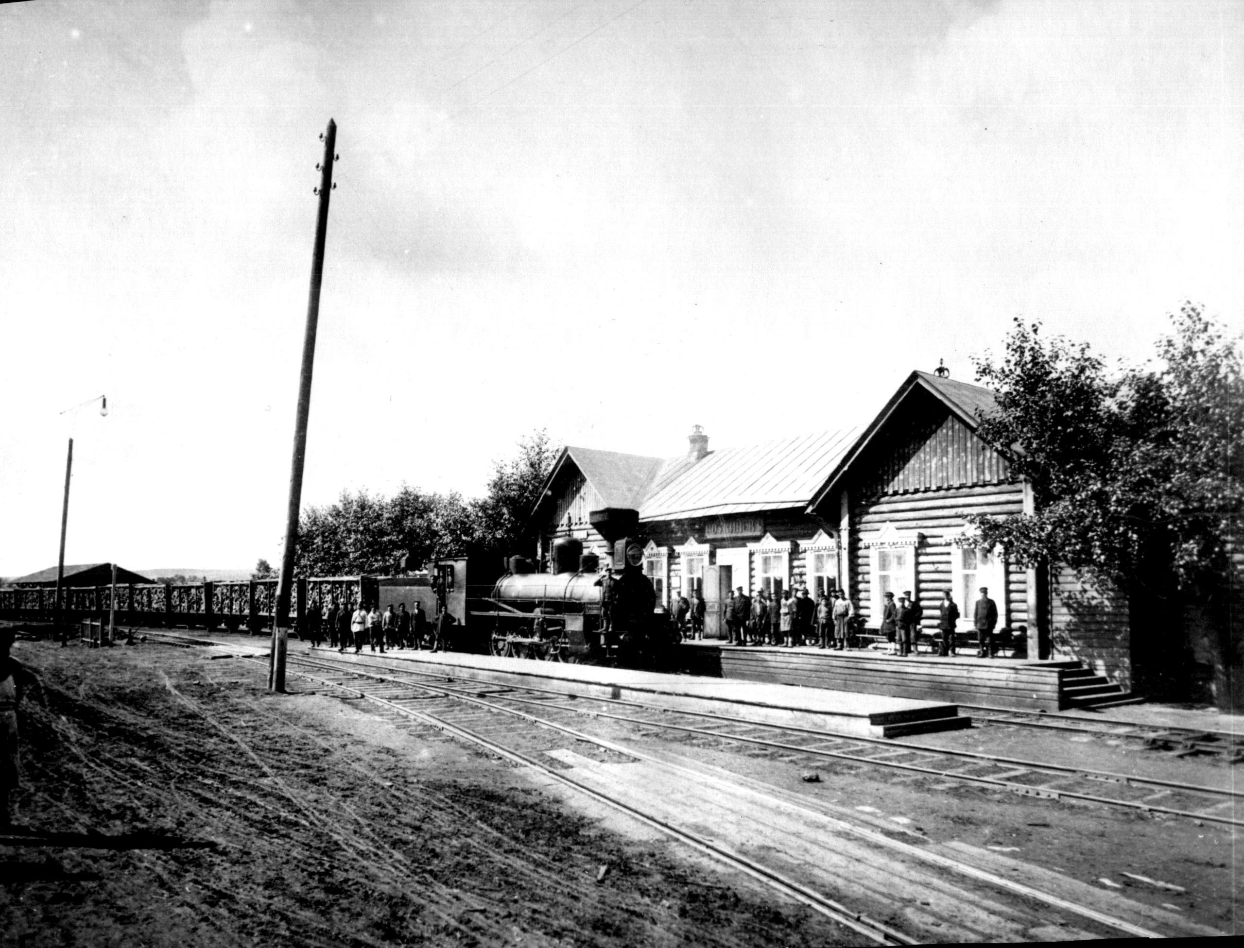 Воткинский железнодорожный вокзал.