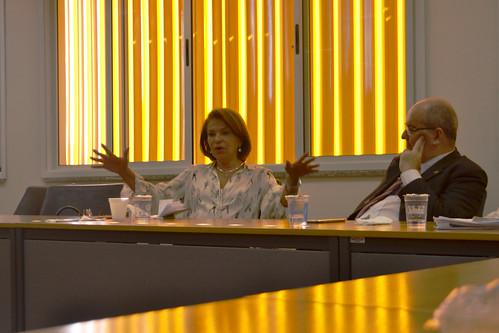 Encontro PIBID, diretores e coordenadores de licenciaturas e EAD com secretária de Educação de São Bernardo e membro do CNE