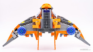 REVIEW LEGO Marvel 76107 Thanos Ultimate Battle 14
