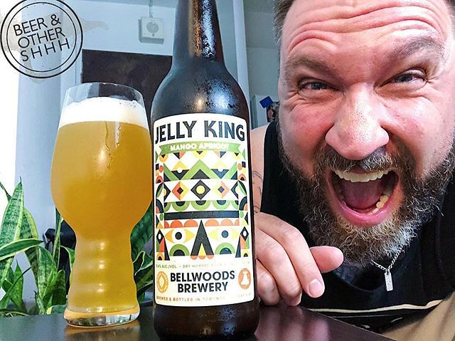 #Repost @ceefor ・・・ #3968 Bellwoods Mango Apricot Jelly King (Canada) Bellwoods kinda need to chill, man. It's too much to keep up with. I'm stressed half the time tryina coordinate this shit. Gimme a break guys, for real. This latest bomb JK variant rock
