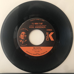 VICKI ANDERSON:ANSWER TO MOTHER POPCORN(RECORD SIDE-B)