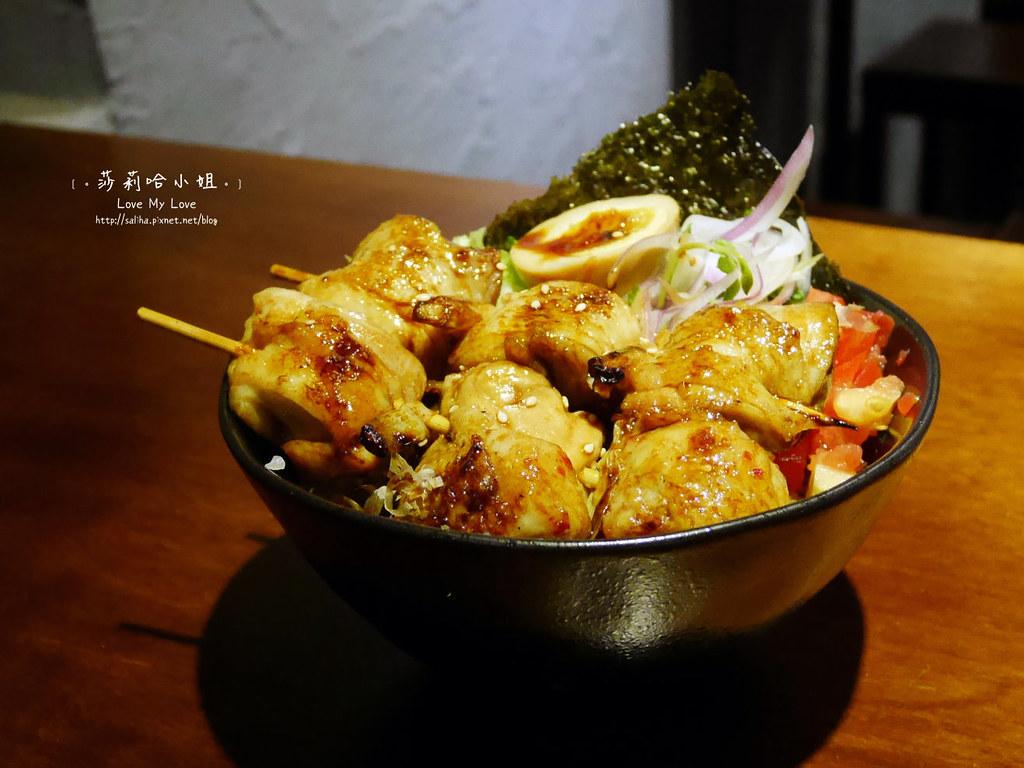 士林直火人燒肉丼飯屋串燒雞肉蓋飯 (2)