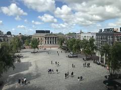 Uitzicht vanuit Fries Museum