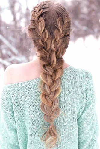 30+Most Stunning French Braid Hairstyles To Make You Amazed! 8