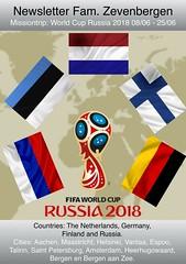 Missão na Copa do Mundo - Rússia 2018