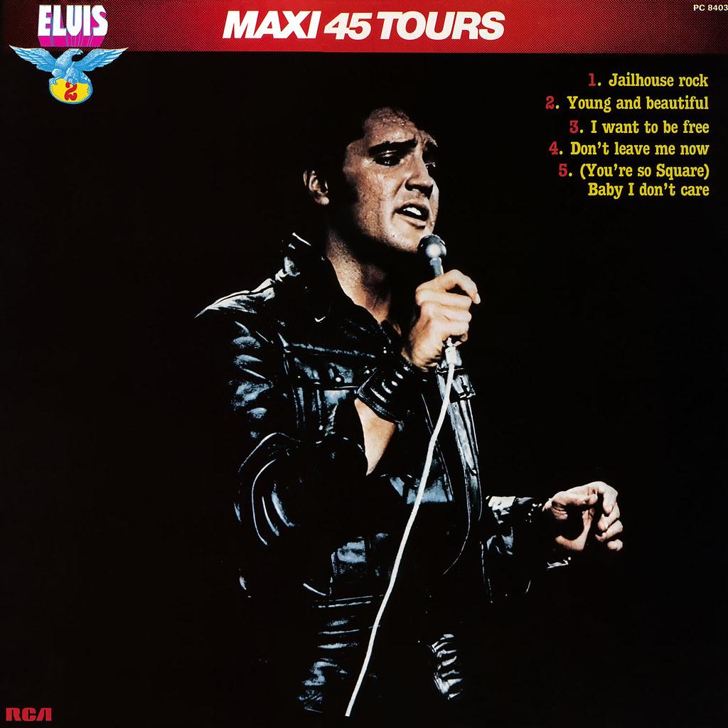 Elvis Presley - Maxie 45 Tours vol 2