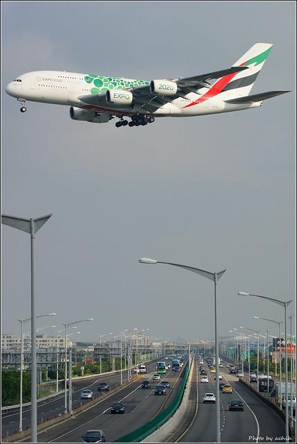 Emirates / A6-EOK / Taiwan Taoyuan International Airport