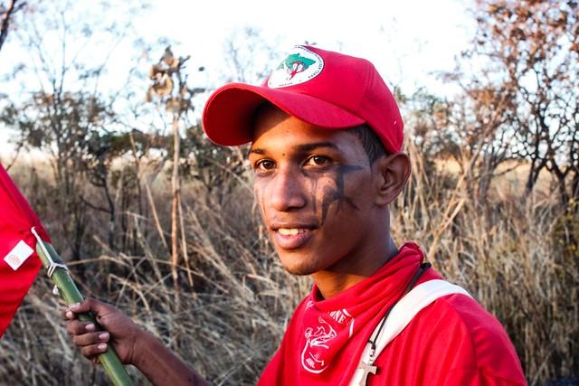 Rafael de Souza: estamos juntos na luta pelo nosso espaço para plantar e morar