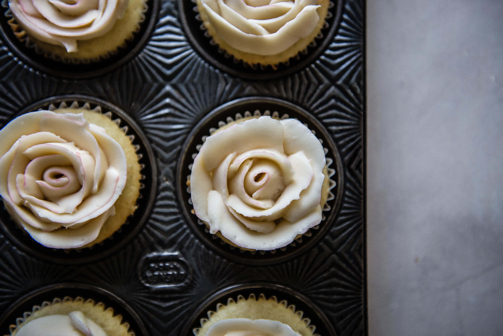 buttercream roses!