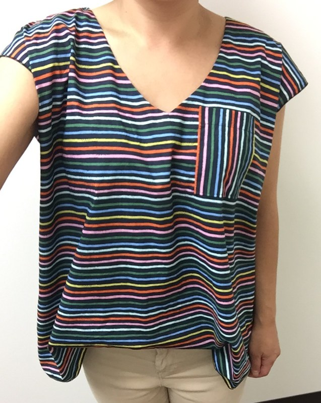 Self-Drafted Boxy Top