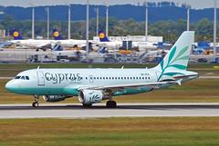 Cyprus Airways Airbus A319 5B-DCX