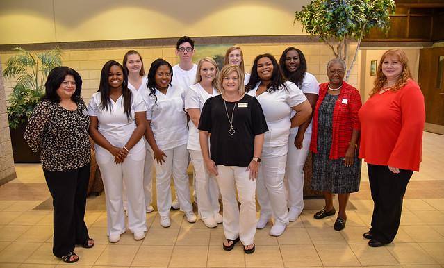 Nurse Pinning Ceremony, Americus Campus, Summer 2018