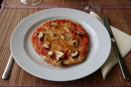 Kleine Pizza Funghi