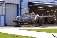 G-OFST Bell 206L-3 Long Ranger III [51300] (Hirecopter Ltd) Shoreham~G