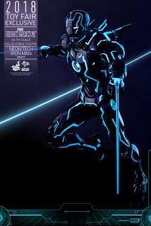 Tron Man?? Hot Toys – MMS485D24 – Iron Man 2 – 1/6th Scale Neon Tech Iron Man Mark IV Collectible Figure [Toy Fair Exclusive]