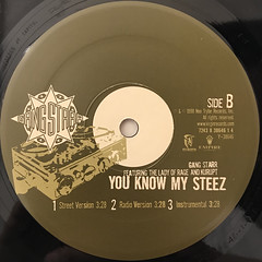 GANGSTARR:THE MILITIA(LABEL SIDE-B)