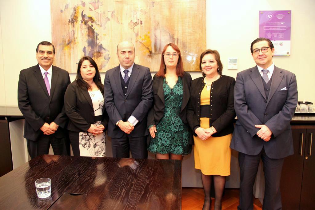 Nuevo Directorio ANEC se reúne con Contralor General, Jorge Bermúdez - 12 Julio 2018