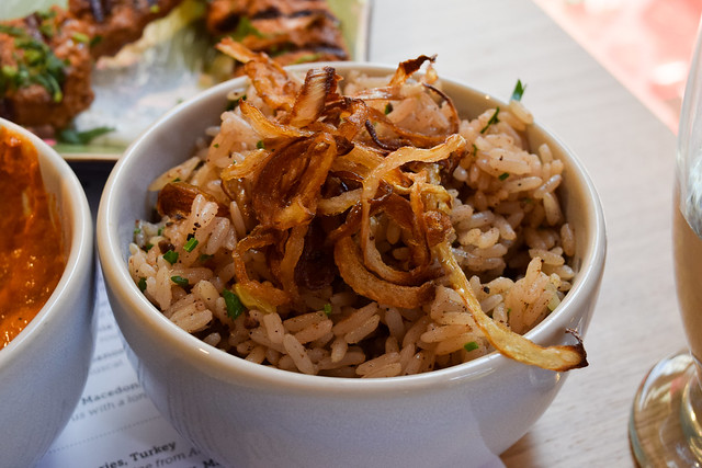 Arabic Scented Fried Rice at Ceru, Soho