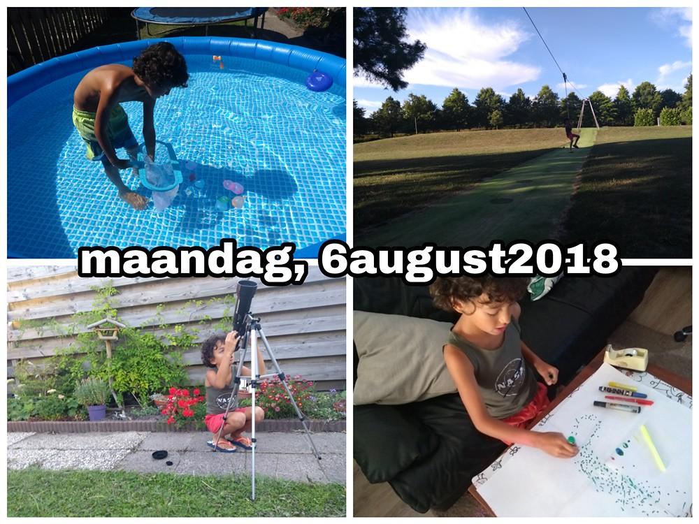 6 august 2018 Snapshot