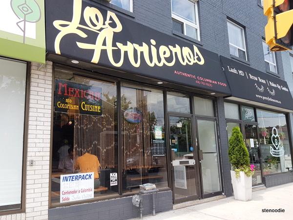 Los Arrieros Restaurante storefront