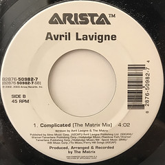 AVRIL LAVIGNE:COMPLICATED(LABEL SIDE-B)