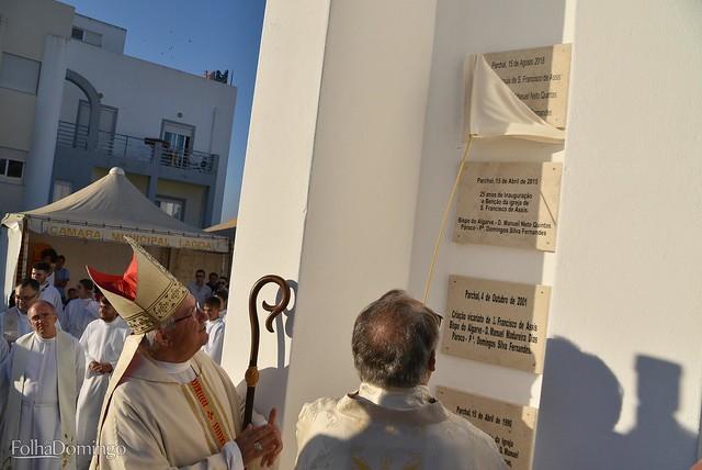 Ereção Paróquia do Parchal - 50 anos sacerdócio padre Domingos Fernandes