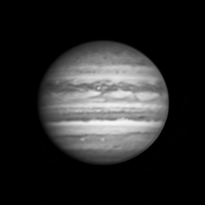 木星のLRGB合成 (2018/7/31)