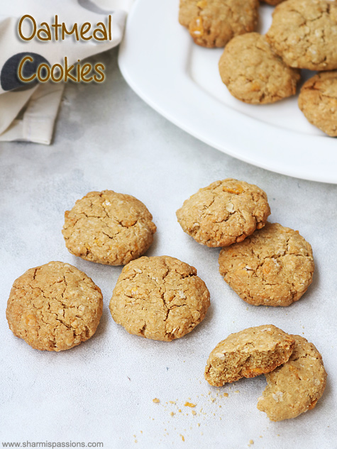 corn flakes oatmeal cookies recipe