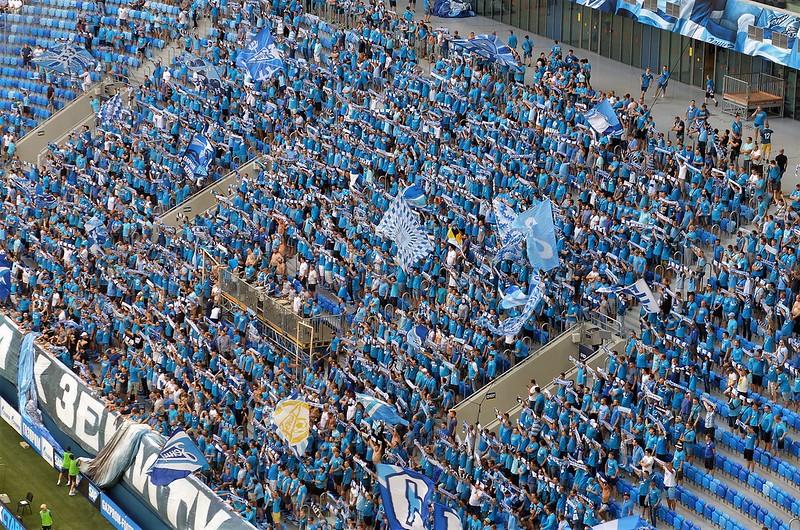 Зенит - Ахмат 0 - 0. Стадион и вокруг стадиона...