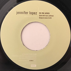 JENNIFER LOPEZ:IF YOU HAD MY LOVE(LABEL SIDE-B)