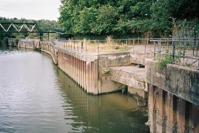 Where Brislington Brook meets the Avon