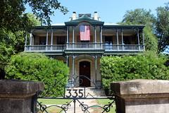San Antonio - King William: Carl Wilhelm August Groos House
