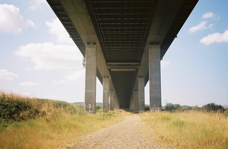 Under the M5, on the Pill side