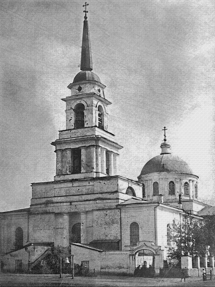 Соборная (Базарная) площадь. Собор Благовещения Пресвятой Богородицы