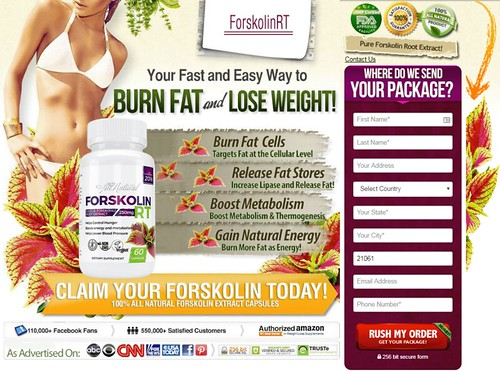 ForskolinRT Natural Fat Burner