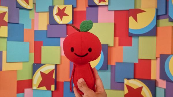 Apple Head's trip at: Pixar Fest