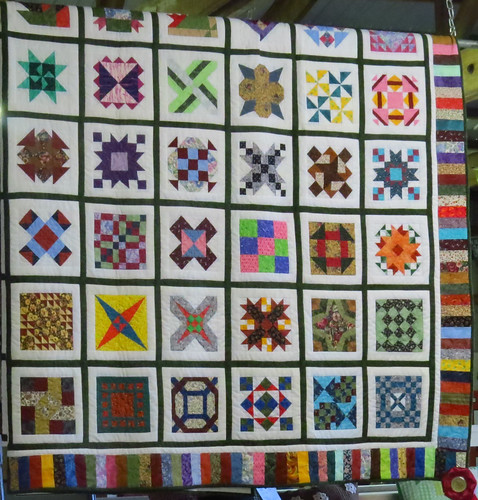 Colorful, prize-winning quilt | by fishhawk